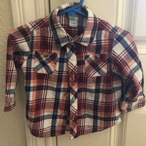 old navy baby boy button up